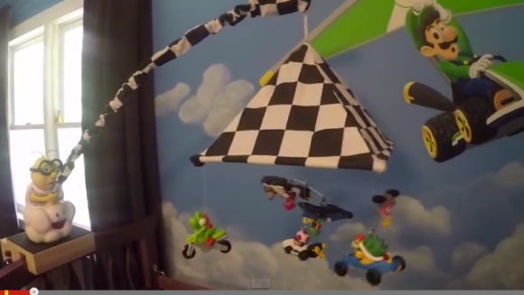 mario bed mobile