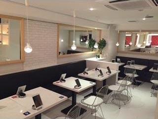 aiseki cafe tables