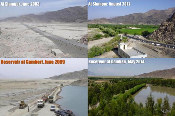 green afghanistan top