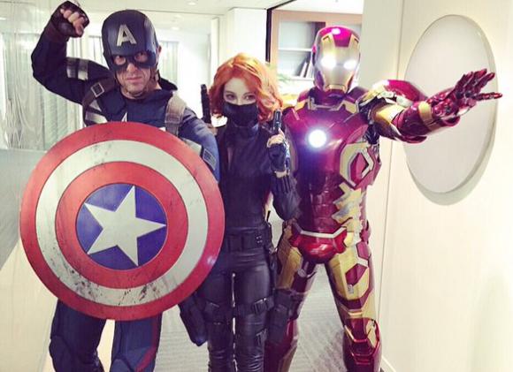 avengers cosplay top