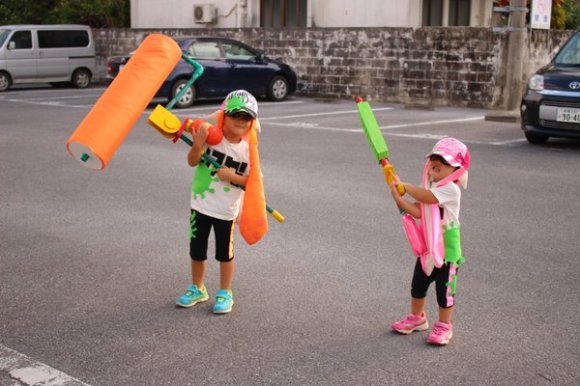 splatoon costume top