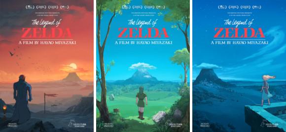 zelda posters top