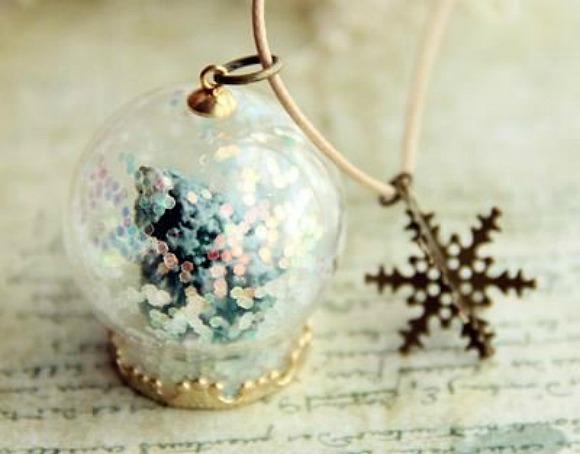 snowglobenecklace