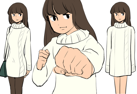 sweater dress top