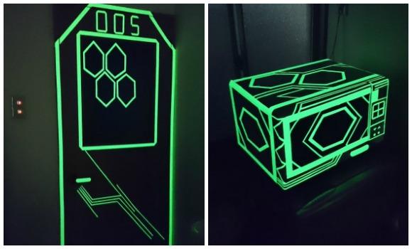 glow tape top