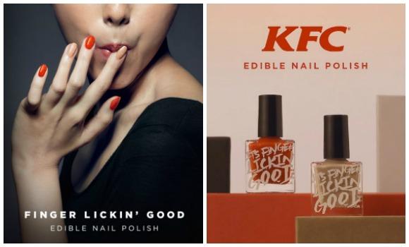 kfc nail polish top