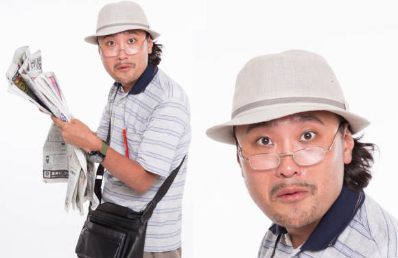 ojisan cosplay top