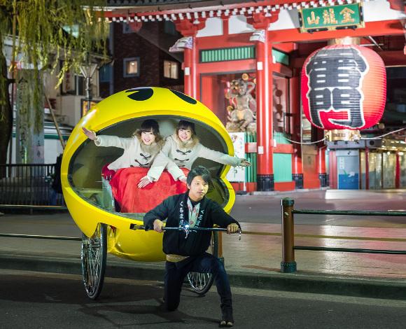 pac-man-rickshaw
