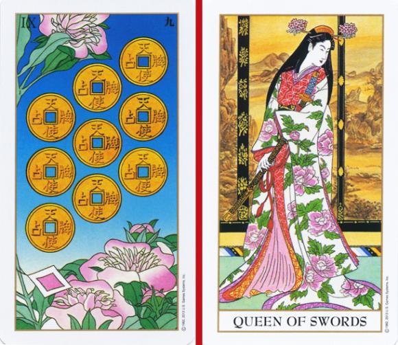 beautiful ukiyoe tarot cards are eastmeetswest in more