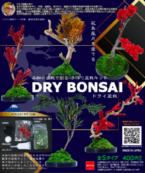 Real Dry Bonsai Trees Coming To Japanese Capsule Toy Vending Machines Photos Soranews24 Japan News