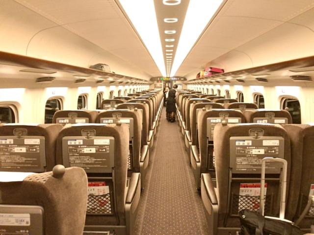 Is the Shinkansen bullet train Green Car upgrade worth it ...