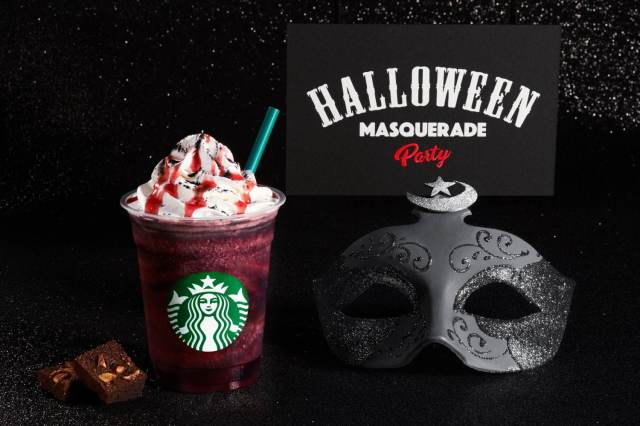 Statrbucks Halloween Frappucino 2020 New Starbucks Dark Night Frappuccino debuts at sunset with cup