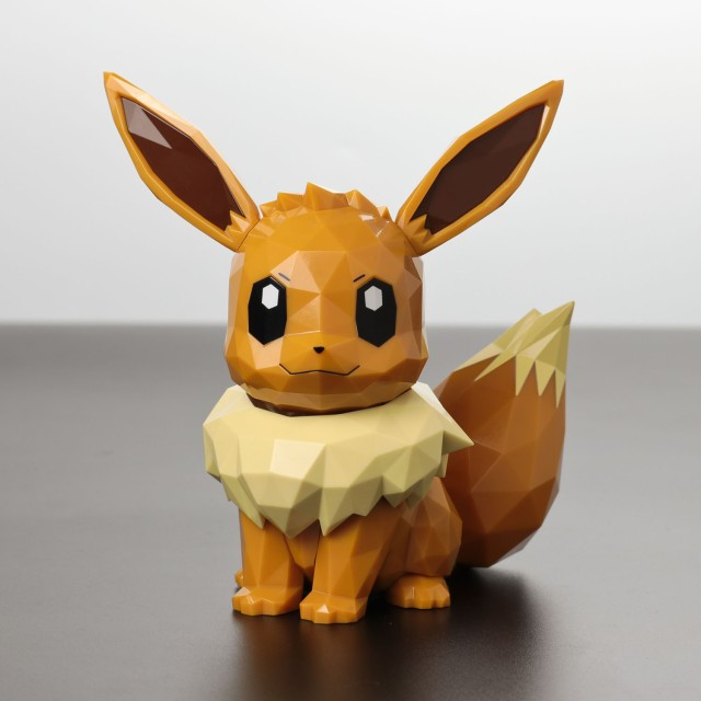 Polygo Pokemon Eevee (Completed) - HobbySearch Anime Robot/SFX Store | 640x640