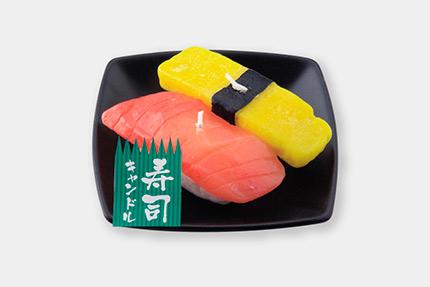 寿司キャンドルマグロ玉子