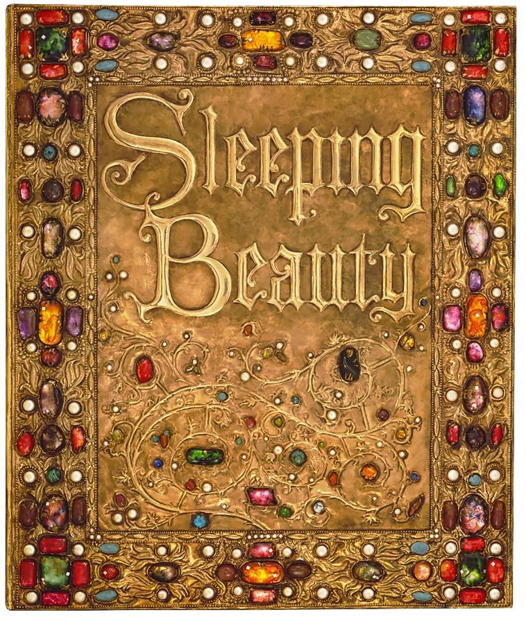 (D)「眠れる森の美女」小道具ストーリーブック(1959年頃)