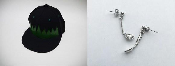 バラン帽とサイキック・スプーンピアス